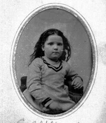 Carrie Belle Tillotson at age 3