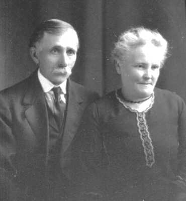 Carrie Belle Tillotson and Byron Edwin Adams