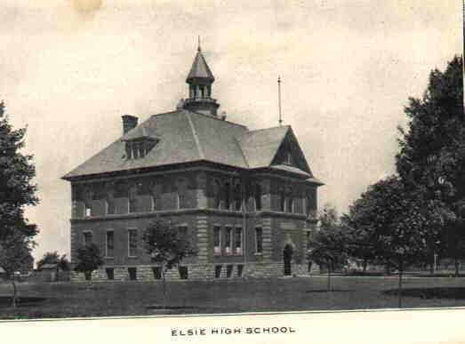 Elsie High School, 1909
