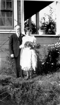 Hattie Adams Wedding Photo