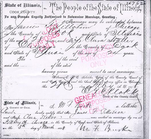 marriage cook county certificate illinois chicago pibburns