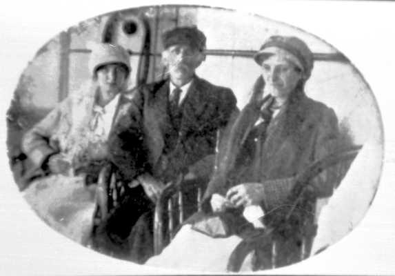 Ruby, Byron, and Hattie Adams