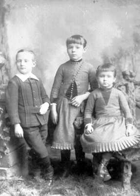 Children of James Francis Tillotson and Clara M. Stahler